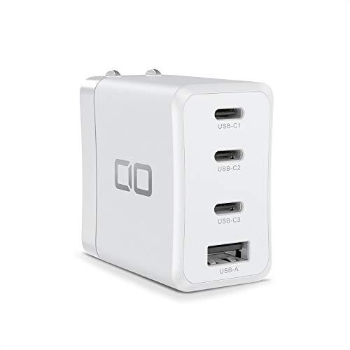CIO LilNob Share iPhone12 USB PD 充電器 【卵サイズ】 4ポート 65W GaN(窒化ガリウム) Type-C ACアダプ...
