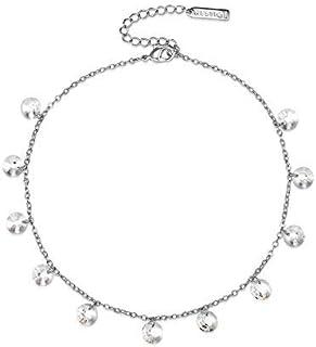 Mestige Women's Marina Anklet with Swarovski Crystals - MSAK3014
