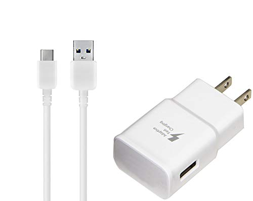 Works for Acer OEM Adaptive Fast Charger Liquid Jade Primo 15W with Certified USB Type-C Data and Charging Cable. (White 3.3FT 1M Cable)