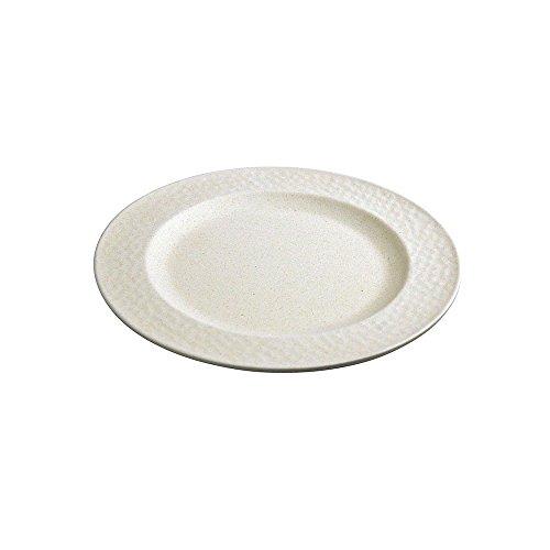 zuperzozial Kleiner Teller, gehämmert, weiß, Nylon/A