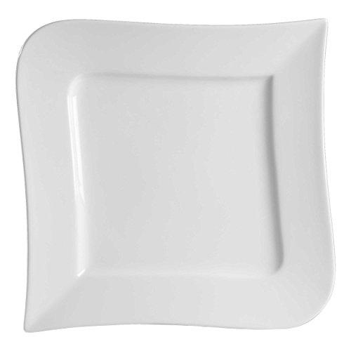 Ritzenhoff & Breker Melodie Teller Flach, Speiseteller, Essteller, Porzellan, Weiß, Ø 28 cm, 580075