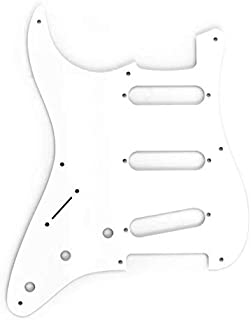 Fender Vintage-Style Pickguard, '57 Stratocaster LH, 8-Hole - White 3-Ply