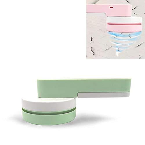 Portable Desktop-Staubsauger Mini Haushalt Gummi Confetti-Reiniger, Wiederaufladbare...