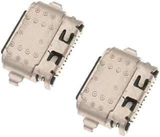 منفذ شحن USB من فون صن لهاتف موتورولا موتو G6 XT1925 وG6 Plus XT1926 عبوة من قطعتين