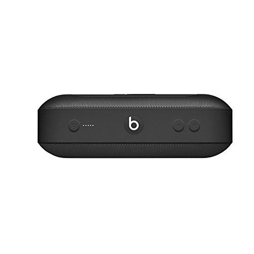 Bocina inalámbrica portátil BeatsPill+, Bluetooth estéreo, 12horas de audio, micrófono para llamadas telefónicas - Negro
