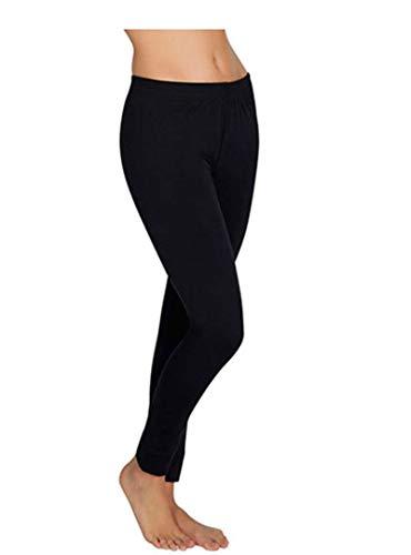 Invierno 2 en 1 Thermo leggings con mini falda elástica señora pantalones largos tupido