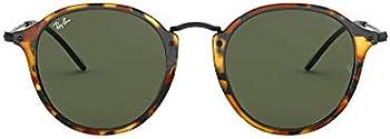 Ray-Ban Round Fleck Green Classic G-15 Sunglasses
