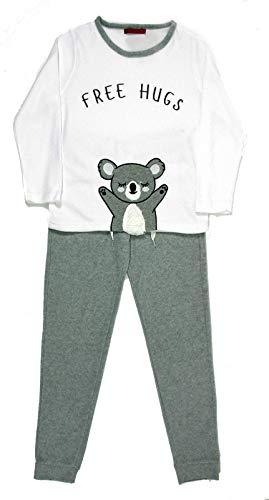 Dames pyjama - lange broek & lange mouwen bovendeel