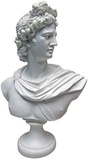 apollo bust statue