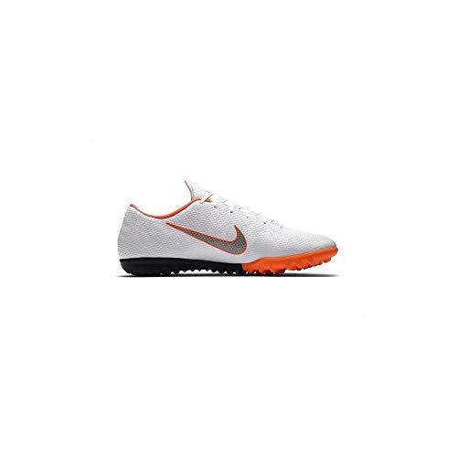 Nike - JR Mercurial Vapor 12 Academy PS TF - AH7353107, Blanco (Blanco), 30 EU