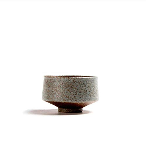 tazze SFBBBO Tazza da tè in ceramica Ceramica grezza per bicchieri da tè puer Tazza da tè in porcellanabianca