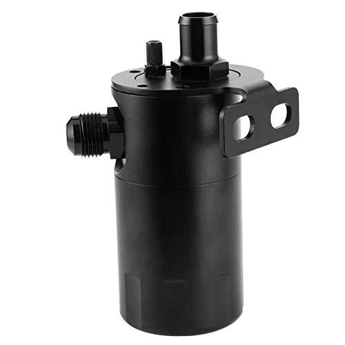 LXH-SH Kraftstofffilter Tanque de aleación de Aluminio de la aleación de Aluminio del Tanque de 500 ml de la aleación de Aluminio AN10 5 / 8IN Puerto Universal