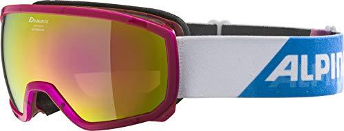 Alpina Scarabeo Jr. MM Sph. Mädchen Skibrille, translucent pink, M