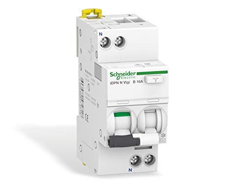 Schneider pbt-dit 51 24 A9D56616 FI/LS-Schalter iDPN N Vigi 1P+N, 16A, B-Char, 30mA, Typ A, 6kA