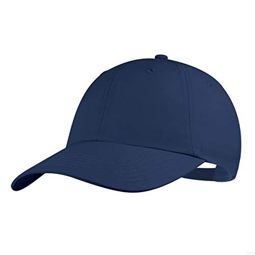 Quivk Dry Dad hat Summer Polo Baseball Cap Mens Outdoor Running Run Sports Sport Hats Cool UV Sun Caps Light Breathable Travel Golf Unstructured Trucker Hat for Men Women Girls Unisex Plain Gifts Blue