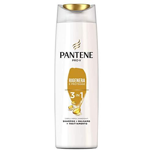 Pantene Pro-V Rigenera e Protegge 3 in 1, Shampoo + Balsamo + Trattamento, 225ml