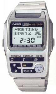 Casio BZX-20D-7SER, Armbanduhr.