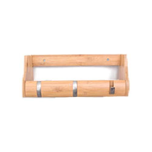 JKGHK Wandkapstok van hout, creatief design van milieuvriendelijke materialen, voor slaapkamer, kantoor, intrekbare haak