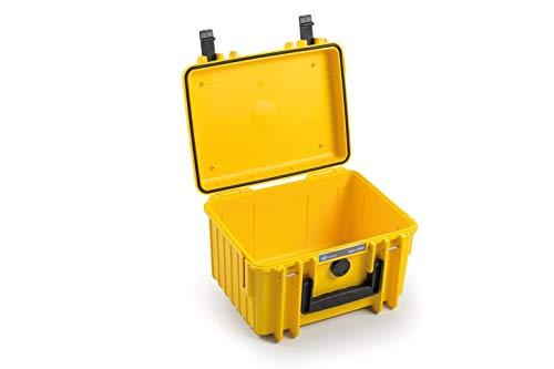 B & W International 2000 / Maleta Y Prueba de Golpes/Impermeable/Resistente a la Ultra cámara Amarillo