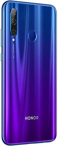 Honor 20 Lite 128 GB Smartphone BUNDLE mit 32MP AI Selfie Kamera (6,21 Zoll), AI Triple Kamera, Dual-SIM, Android 9.0) Phantom Blue + gratis Flip Cover [Exklusiv bei Amazon] - Deutsche Version - 4