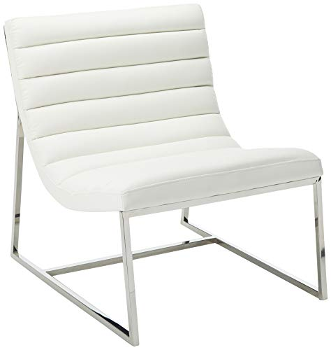 Christopher Knight Home Parisian Leather Sofa Chair, White