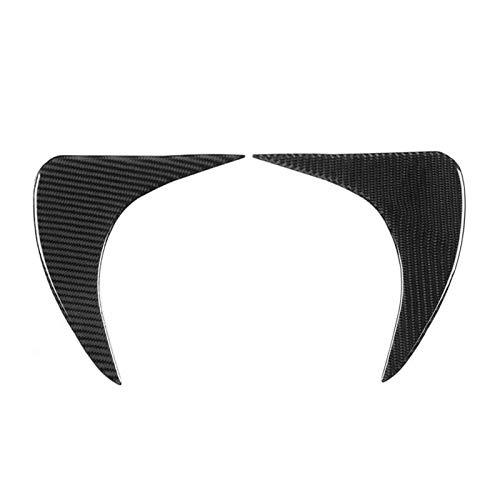 YYAN Mirador de Coches de Estilo de Coches Mirrocumientos de Fibra de Carbono Faro de la luz de la Cabeza de la lámpara Delantera de la ceja Fit para Subaru BRZ 2012  2016 Auto Mirror