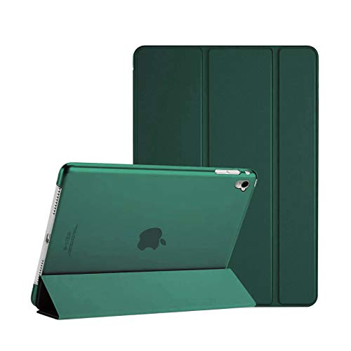 TechDealsUK Smart Magnetic Stand Case Cover with Automatic Wake/Sleep for Apple iPad Air (1st Generation) A1474 A1475 A1476 (Emerald Green)