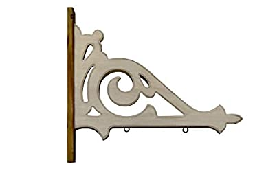 K&K Interiors Arrow Replacement Decorative Hanging Sign, White