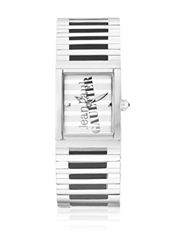Jean Paul Gaultier Damen Analog Quarz Uhr mit Edelstahl Armband 8500805