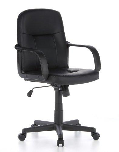 hjh OFFICE Bürostuhl/Chefsessel Sky PXS Kunstleder schwarz