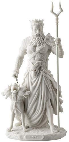JFSM INC Hades Greek God of The Underworld with Cerebrus Statue