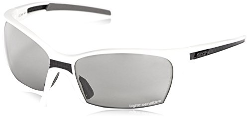Scott USA Endo Sunglass (White Frame with Light Sensitive Grey OptiView Lens)