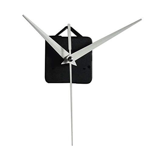 Yardwe Kit de Movimiento del Reloj de Pared Juego de Bricolaje Mecanismo de Movimiento del Reloj de Pared Piezas de reparación para la Escuela del Hotel en casa (Blanco)