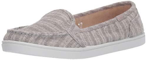 Roxy Women's Minnow Slip On Sneaker Shoe, Grey Heather, 9 M US
