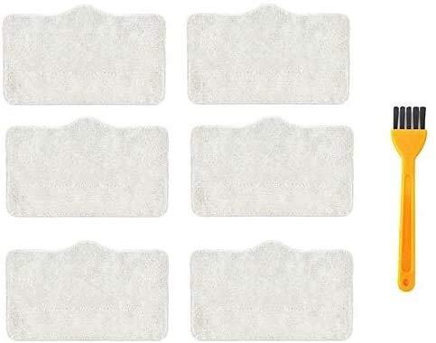 NLRHH Bürstenfilter Wischmopp Tuch Haushaltsmopp für Deerma DEM ZQ600 DEM ZQ610 Staubsauger Reinigungstücher