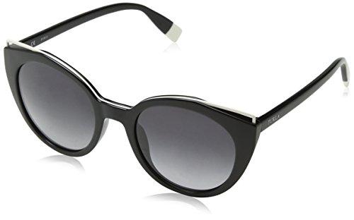 FURLA Eyewear Donna N/A Occhiali da sole, Nero (Shiny Black), 51