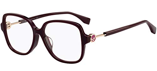 Brillen Gafas de Vista Fendi F IS FENDI FF 0364/F BURGUNDY 53/15/145 Damen
