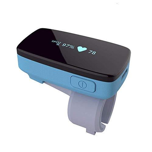 Trendmedic SleepO2 - SpO2 - Schlafmonitor/Langzeitrekorder ohne extra Fingersensor mit Aufnahmefunktion