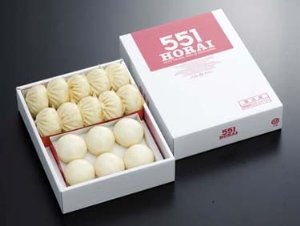 【店舗より直送】 551蓬莱 Dセット (豚まん10個、あんまん6個セット)