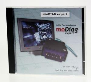 moDiag Expert OBD2 Profi-Software für AGV4000, Diamex Scandevil , DX35 ,