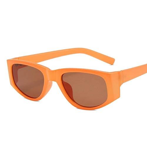 UKKD Moda diseñó las mujeres verdes lindas pequeñas gafas de sol femeninas retro
