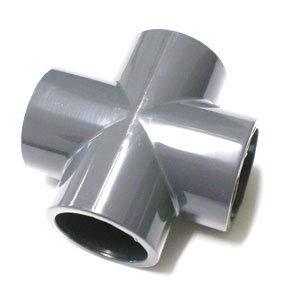 PISCINEO Croix à Coller PVC Pression diam. 50