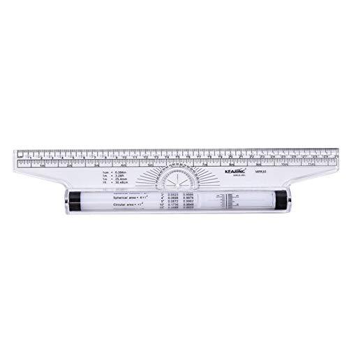 Artway Roll-Lineal 30 cm 6 St/ück