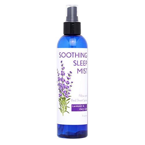Lavender Pillow Spray for Sleep. Pillow Mist Lavender Spray for Sleep. Multiple Scent Options (Lavender & Clary Sage Blend, 8 Ounce)
