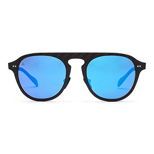 GRAFFIT  Gafas sol polarizadas 100% Fibra de Carbono  UV400  Unisex  Gafas de Sol Deportivas  Máxima Resistencia y Ligereza  Diseño Clásico Atemporal  Gafas de Sol Hombre Polarizadas