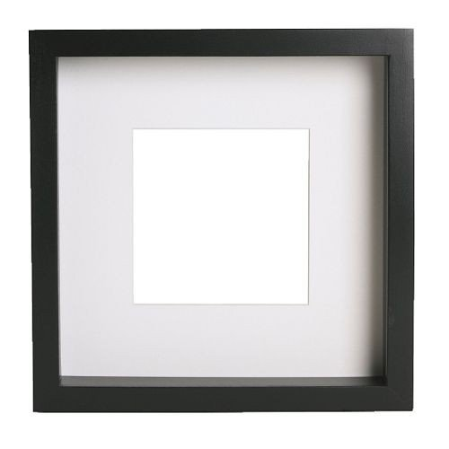 Ikea Ribba framein black; 23 cm x 23 cm x 4.5cm
