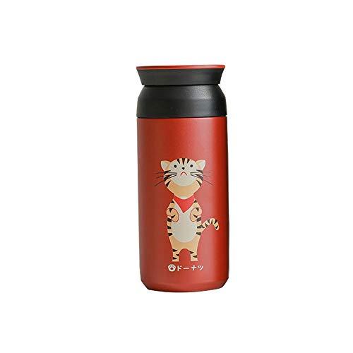 LRHD Doppia parete della boccetta di vuoto Thermo | doppia parete Vacuum Insulated di caffè della tazza, sport Bottiglia d'acqua, borraccia tazza d'acqua for lo yoga, ginnastica e lo sport Kids Cup Co