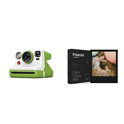 Oferta de Polaroid - 9029 - Polaroid Now Cámara instantánea i-Type Verde + Película Instantánea