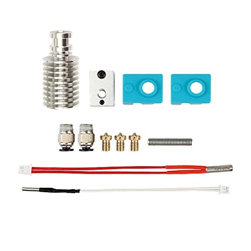 3D Printer Print V5 J-Head Hotend Upgrade Kit Compatible with Mega-i3 Filament Extruder with 0.4mm Nozzles Accessories