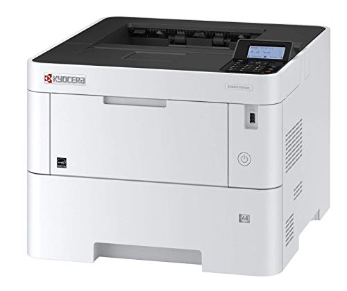 Kyocera Ecosys Laserprinter 3 jaar ter plaatse fabrieksgarantie 45 Seiten pro Minute wit